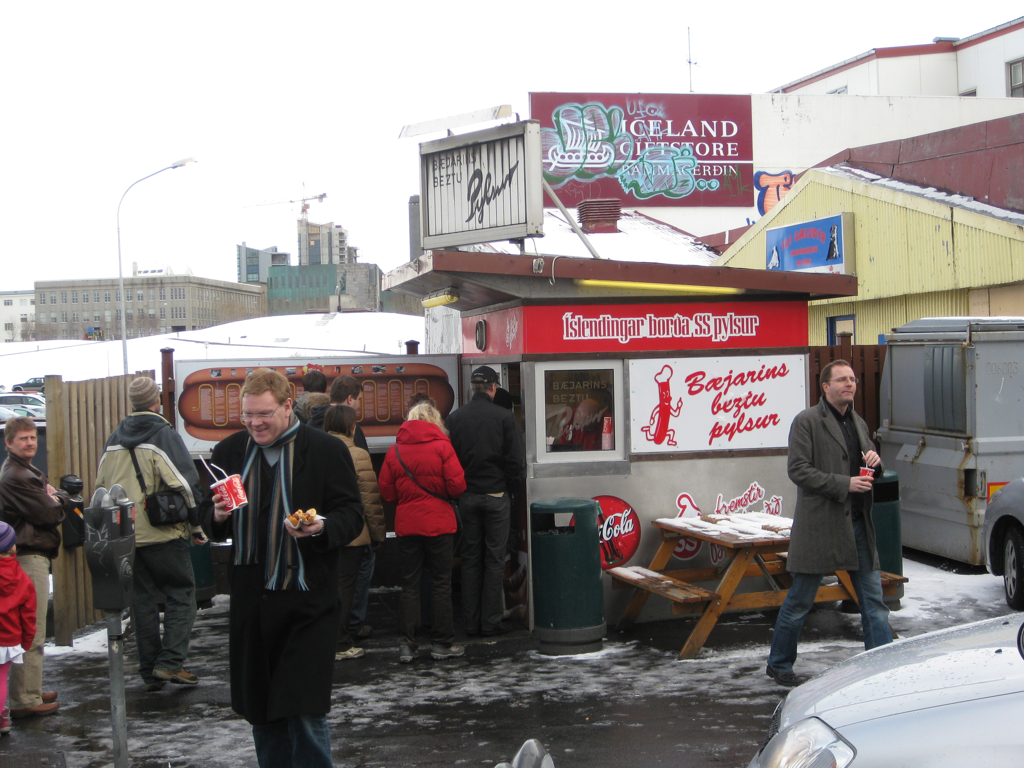 Iceland just can't get enough of these above-average hot dogs.